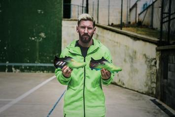 Adidas Celebrates Lionel Messi With Limited Edition 10/10 Cleats