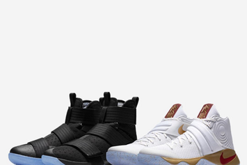 "Nike Releasing Kyrie x LeBron ""Four Wins"" Championship Pack Tomorrow"