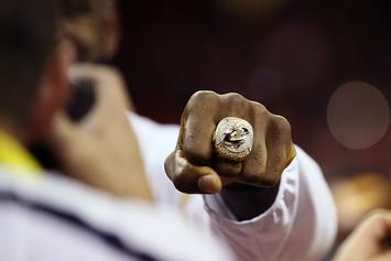 "Cleveland Cavaliers Championship Rings Reference ""3-1"" Finals Comeback"