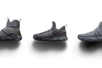 "Nike Basketball Releasing ""Battle Grey"" Collection This Weekend"