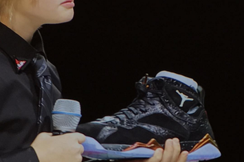 "Check Out This Alternate Version Of The ""Doernbecher"" Air Jordan 7"