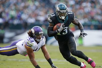 Eagles Wide Receiver Josh Huff Arrested For Speeding With Gun And Marijuana In Car