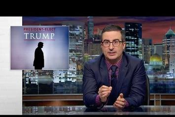 Watch John Oliver Mourn For Humanity After The Donald Trump Victory