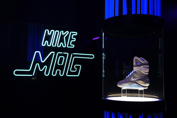 Final Nike Mag Auction In New York City Sells For Absurd Amount Of Money