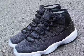"The ""Wool"" Air Jordan 11 Revealed In Detail"