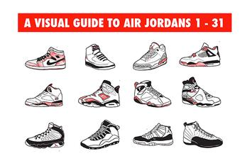 A Visual Guide To Air Jordans 1-31