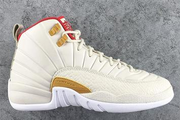 "Air Jordan 12 GS ""Chinese New Year"" Expected For January"