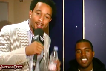 Kanye West & John Legend's 2004 Tim Westwood Freestyle