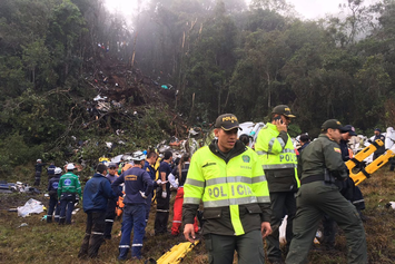 Brazilian Soccer Team Chapecoense Involved In Tragic Plane Crash In Colombia