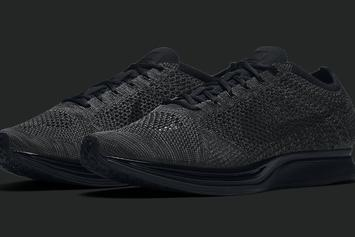 """Triple Black"" Nike Flyknit Racer Hits Retailers Tomorrow"