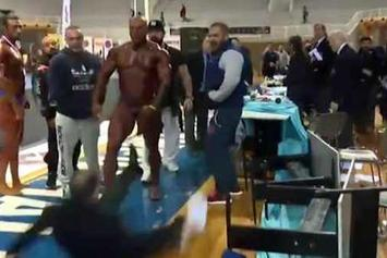 Bodybuilder Slaps The Hell Out Of A Judge After Losing A Competition
