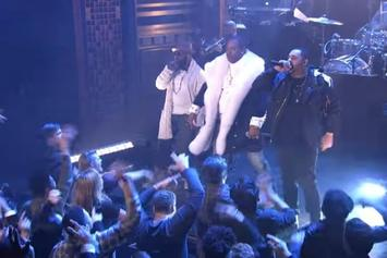 "The Roots, Joell Ortiz & Busta Rhymes Perform ""My Shot"" On Jimmy Fallon"