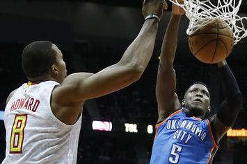 Watch Victor Oladipo Posterize Dwight Howard
