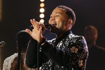 "John Legend Performs ""Love Me Now"" On ""The Late Late Show"""