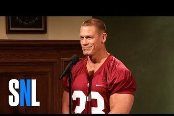 Watch John Cena Play An Entitled Football Player On SNL