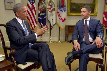 "President Obama Sits Down With Trevor Noah On ""The Daily Show"""