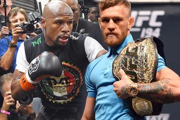 "Floyd Mayweather: ""I'm Gonna Slap The Shit Out Of McGregor When I See Him"""