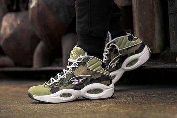 BAPE x Reebok Question Mid Release Details Announced