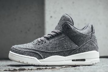"Where To Purchase The ""Wool"" Air Jordan 3s Tomorrow"