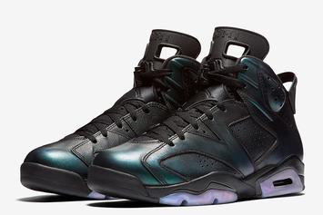 """Chameleon"" Air Jordan 6 For All-Star Weekend Revealed In Detail"
