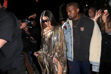 Kanye West & Kim Kardashian Made Their First Public Appearance Together Since Kanye's Hospitalization
