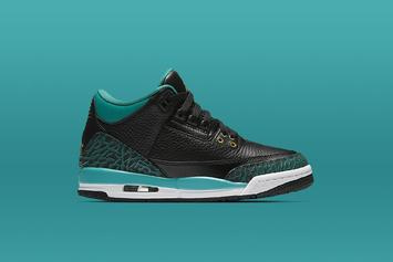 """Rio Teal"" Air Jordan 3 Scheduled To Release Tomorrow"