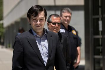 "Martin Shkreli Has Allegedly Bought Lil Wayne's ""Tha Carter V"" Album; Streams Music Via Periscope"