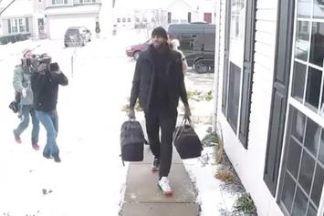 "Watch Lebron James Gift An Ohio Family With $1.3 Million Dollars Cash For NBC's ""The Wall"""