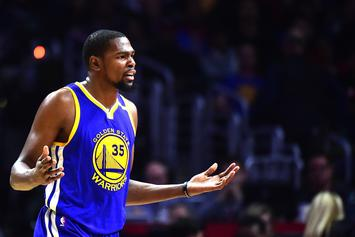 """Kevin Durant Thinks The NBA's Last Two Minute Officiating Report Is """"Bullsh*t"""""""