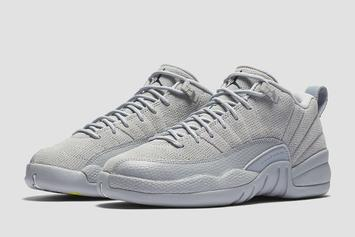 """""""Wolf Grey"""" Air Jordan 12 Low Official Images Have Arrived"""