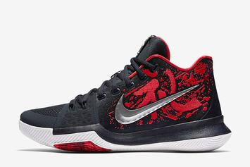 """The """"Samurai"""" Nike Kyrie 3 Will Be Releasing More Than Once This Month"""