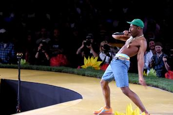 """Tyler The Creator Shares Clip Of Kanye West Recording Verse For """"Smuckers"""""""