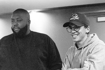 Killer Mike & Logic Hit The Studio Together Last Night