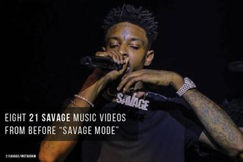 """Eight 21 Savage Music Videos From Before """"Savage Mode"""""""