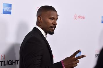 Jamie Foxx Gets Attacked At Hollywood Restaurant