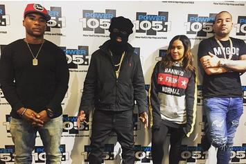"Kodak Black Dons Ski Mask For Bizarre ""Breakfast Club"" Interview"