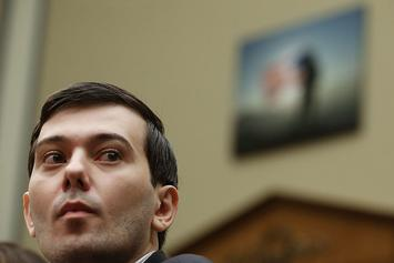 Martin Shkreli Reportedly Hit With Dog Poop In The Face At A Protest