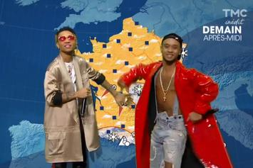 Watch Rae Sremmurd Report The Weather On French TV