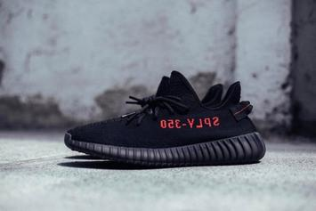 """Black/Red"" Adidas Yeezy Boost 350 V2 Release Date Announced"