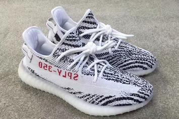 Zebra Striped Adidas Yeezy Boost 350 V2 Reportedly Releasing In February