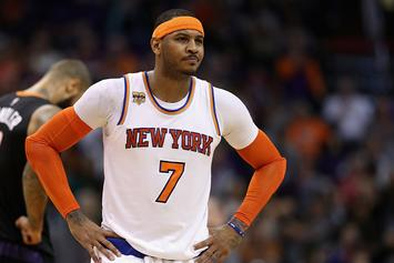 Knicks Reportedly Tried To Trade Carmelo Anthony To Cleveland For Kevin Love