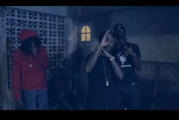 "Popcaan Feat. Jafrass, Quada ""Unruly Camp"" Video"