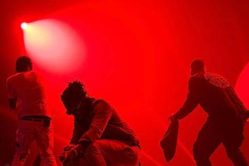 Drake Offers Ticket Refund After Travis Scott Falls On Stage In London