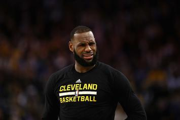 "LeBron James Calls Reporter ""Trash"" For Article About Kevin Love Rumors"