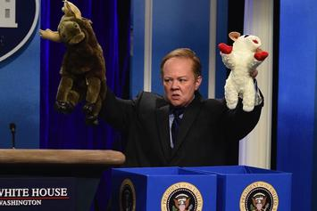 Melissa McCarthy Returns To SNL As Sean Spicer
