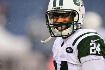 Jets' Darrelle Revis Charged With Four Felonies, Including Assault
