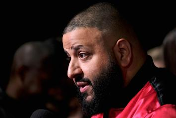 DJ Khaled Gets Dunked Over At NBA All-Star Slam Dunk Contest