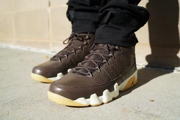 "Anthony Hamilton Debuts ""Chocolate""Air Jordan 9"
