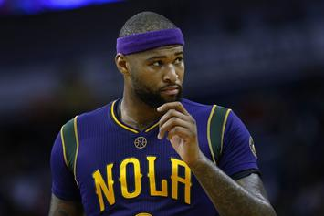 "DeMarcus Cousins Calls Out Another Heckler: ""Sit Your Fat Ass Down!"""