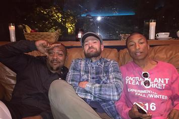 Are Timbaland, Justin Timberlake, & Pharrell Working On New Music?